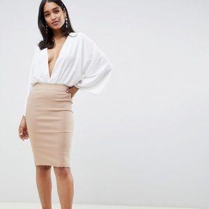 NWT ASOS High waisted pencil skirt size 6